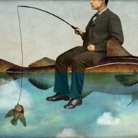 """Sky Fishing"" by Catrin-Stein"