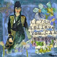 Believe You Can inspirational art