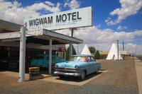 Route 66 - Wigwam Motel and Classic Car 2012 #3