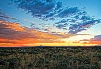 Taos sunset July 17 2012