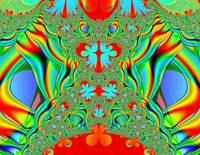 La grange colorful fractal
