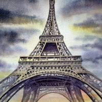 """Eiffel Tower Paris France"" by IrinaSztukowski"