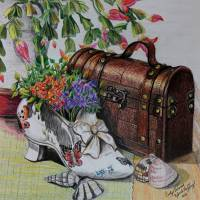 Victorian Still Life Art Prints & Posters by Carolyn Valcourt