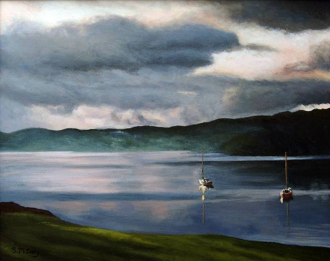 Lake Windermere at Sunset II