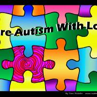 Cure Autism With Love Art Prints & Posters by Tara Richter