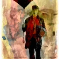 """Technicolor Rain ~ Buster Keaton"" by leapdaybride"
