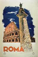 Vintage Travel Poster - Rome
