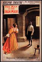 Poster 'The Man in the Iron Mask' at The Adelphi T