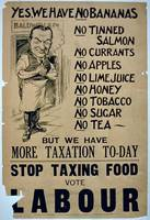 'Yes, We Have No Bananas.. Stop Taxing Food, Vote