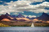 Sailing In Havasu