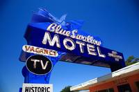Route 66 - Blue Swallow Motel 2012 #3