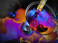 COLORED DRINK STILL LIFE SPECIAL EFFECTS PHOTOGRAP