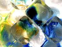 COLORFUL ICE MACRO SPECIAL EFFECTS STILL LIFE PHOT