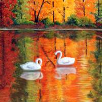 Fantasy in Reflections Art Prints & Posters by Lorraine Foster