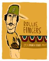 Rollie Fingers Oakland A's
