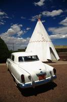 Route 66 - Wigwam Motel and Classic Car 2012