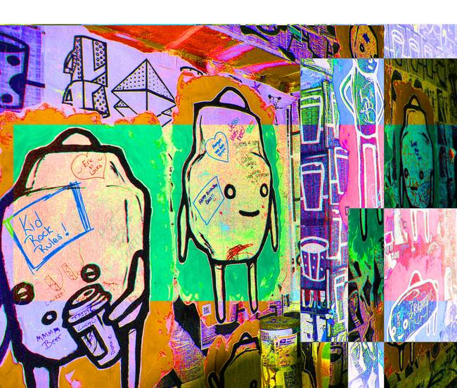Colored Blocks of Graffiti
