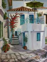 Greek Island Townhouse