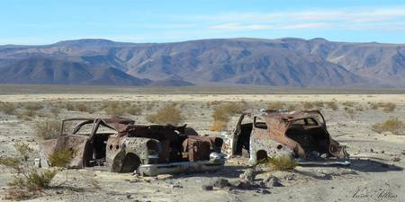 Death Valley Shooting Range