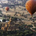Balloons Over Temples of Bagan #1
