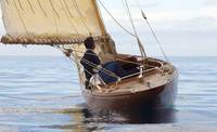Old style sailboat