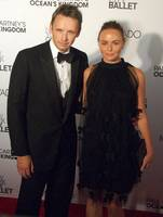 Stella McCartney and Alistair Donald