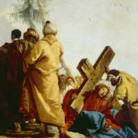 """Christ Carrying the Cross, Stations of the Cross,"" by fineartmasters"