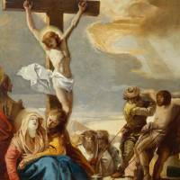 """Christ Crucified, Stations of the Cross, 1747"" by fineartmasters"
