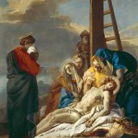 """""""The Deposition, Stations of the Cross, 1747 (oil o"""" by fineartmasters"""