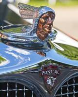 1927 Pontiac Chief with sky reflections