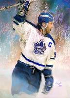 Doug Gilmour, Toronto Maple Leafs, NHL Art
