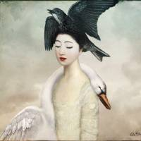 Heaven and Earth Art Prints & Posters by Catrin Welz-Stein