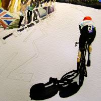 WIGGINS GOLD RUN Art Prints & Posters by IAN H. PARRY