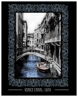 Venice Canal 1970: Vintage Travel Poster