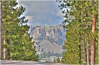 View of Mount Rushmore