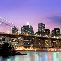 """Brooklyn Bridge, New York NY"" by IK_Stores"