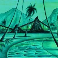 """beach lair,"" by sophista-tiki"
