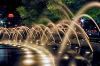 Fountains at Columbus Circle