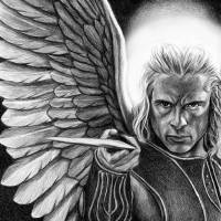 Saint Michael the Archangel 2 Art Prints & Posters by David Myers