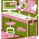 MAKE pink/green Prints & Posters