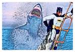 """Never Run Out of Bat-Anti-Shark Repellant"""