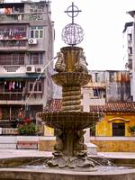 fountain, macau