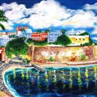 """La Fortaleza, Old San Juan, Puerto Rico"" by galina"