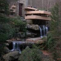Fallingwater Art Prints & Posters by Azure Rae Robinson