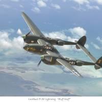 """Lockheed P-38 Lightning"" by JeffStephenson"