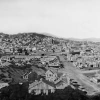 2nd Street viewing North, San Francisco 1856 by WorldWide Archive