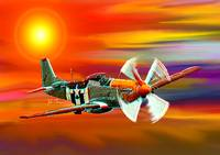 P 51 Mustang Cadillac of the sky
