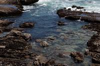 Tide Pools, Water and Rocks