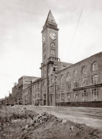 Clocktower Building, 2nd Str. San Francisco c1920