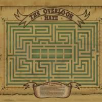 """Overlook Hotel Maze Map"" by originaldave77"